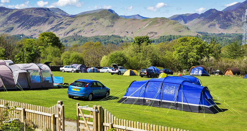 Touring Caravan Sites Keswick Lake District