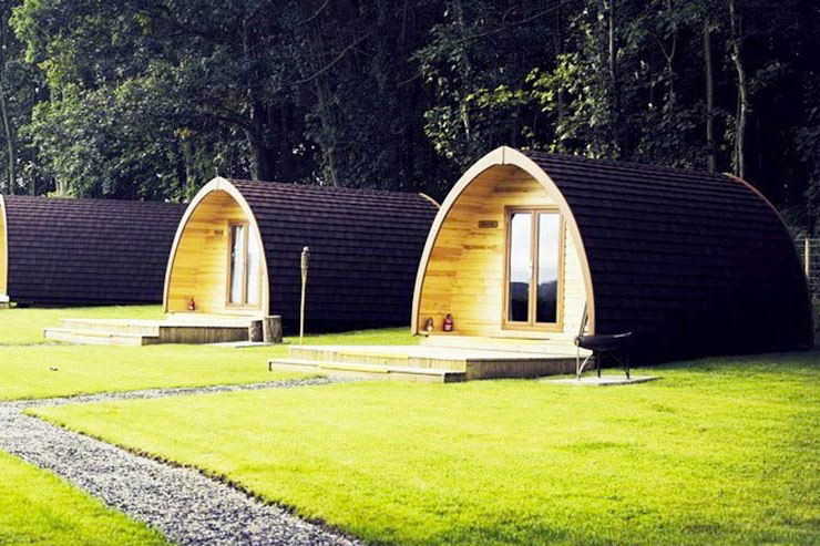 Thornfield Camping Cabins / Pods