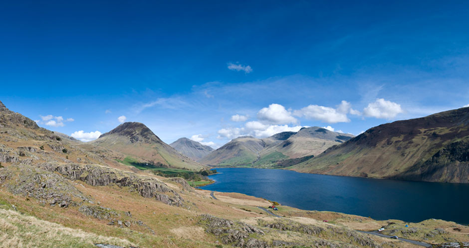 Wastwater, Scafell Pike and Great Gable