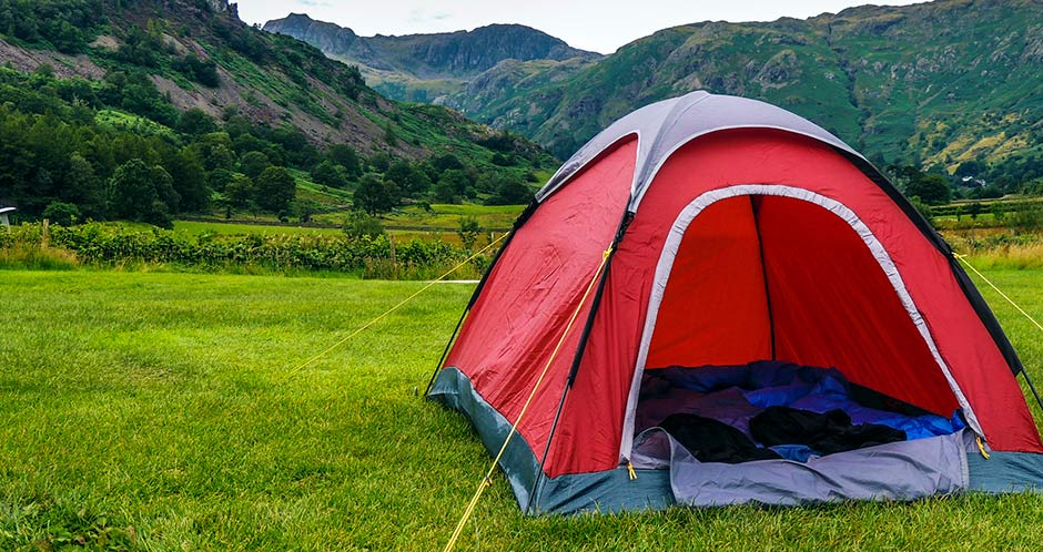 Camping in Great Langdale